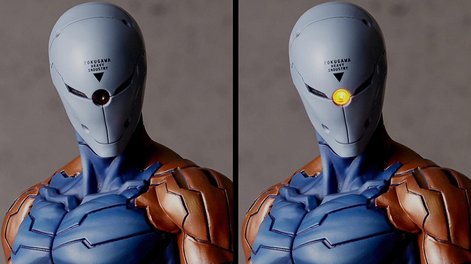 来看看灰狐的这张脸,Gecco出品的《潜龙谍影》灰狐模型现已开启预订