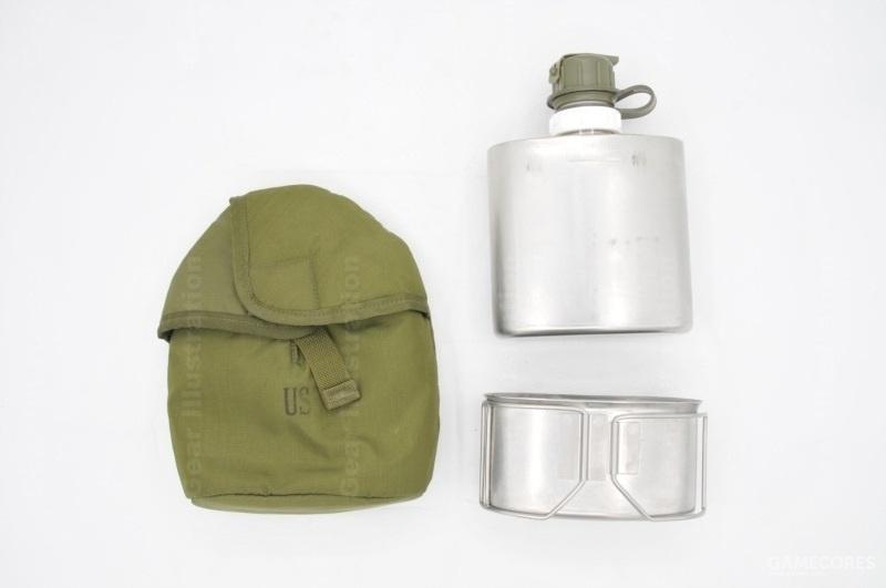 90年代起用代替圆形保温水壶的酒壶型保温水壶,一夸脱容量