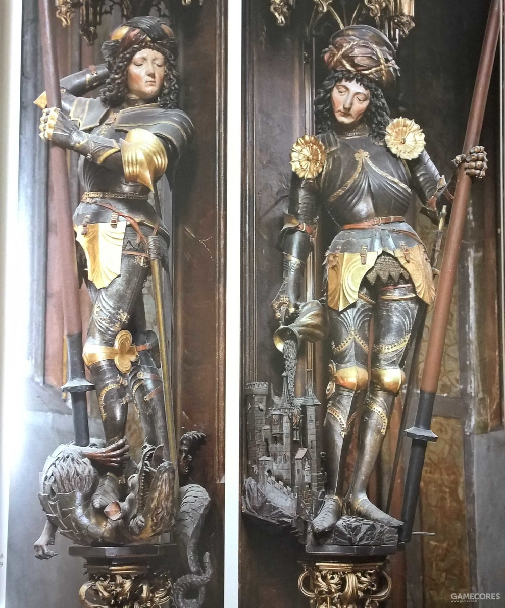 St. George and St. Florian  1481