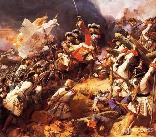 没错,就是西班牙王位继承战争