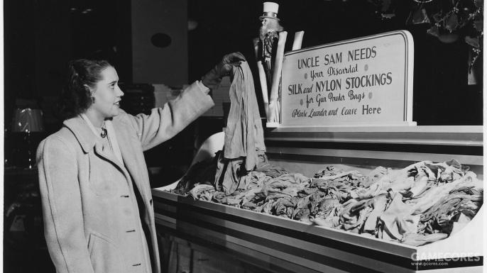 二战美军有三宝:吉普、可乐、尼龙丝袜