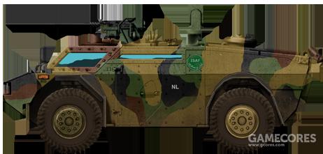 """在阿富汗执行维和任务的荷兰""""非洲小狐"""""""