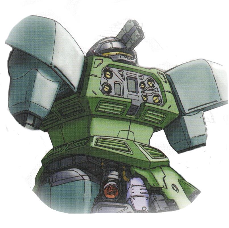不过YMS-14依旧在背部预留挂载点与连接线路用于装备专用的大推力背包。