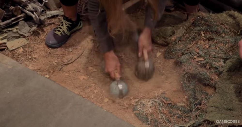音响设计师用半球体模拟马蹄声