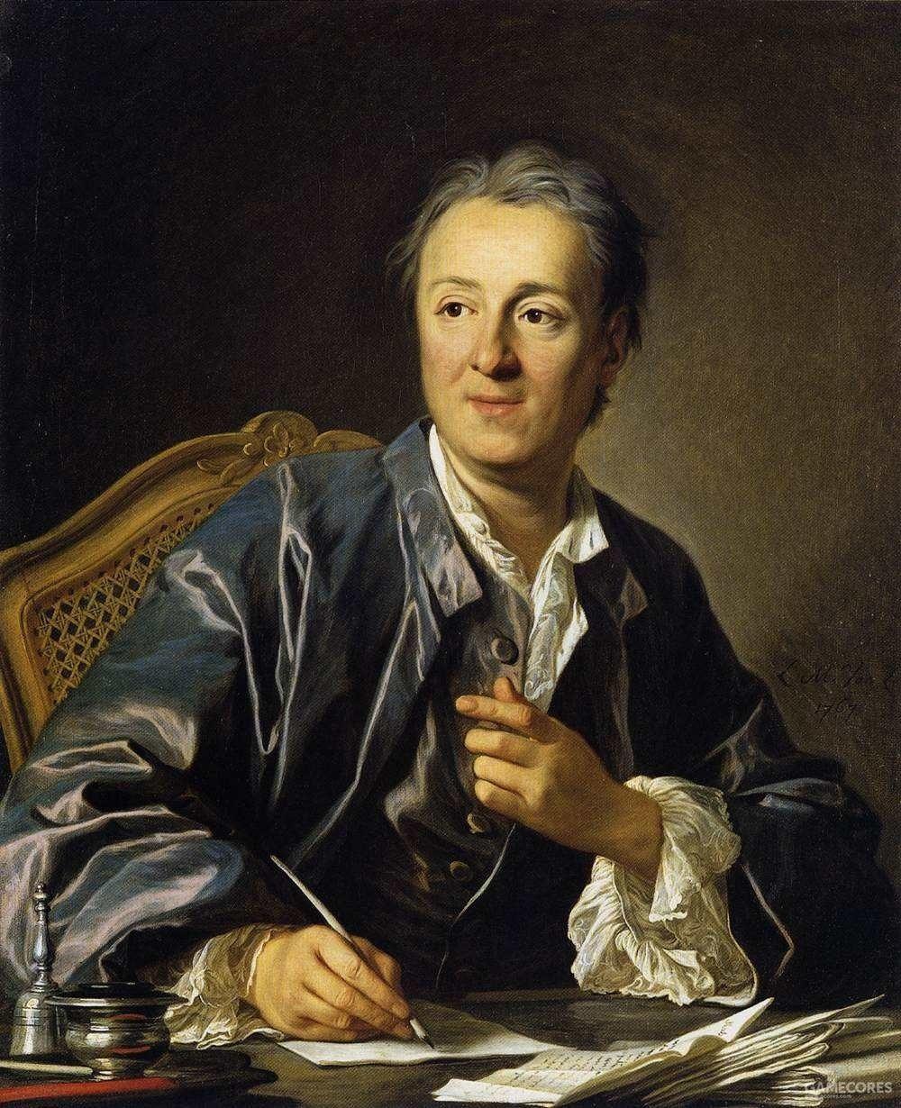 """狄德罗 1713-1784 """"真理喜欢批评"""""""