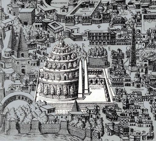 奥古斯都大帝墓,公元前1世纪
