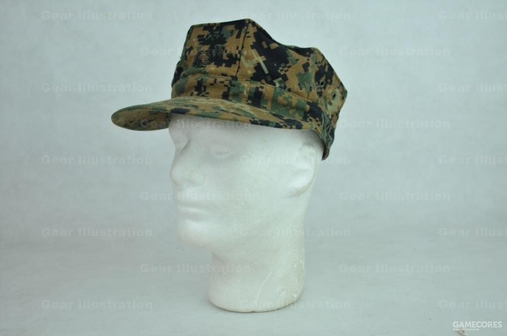 丛林MARPAT迷彩八角帽