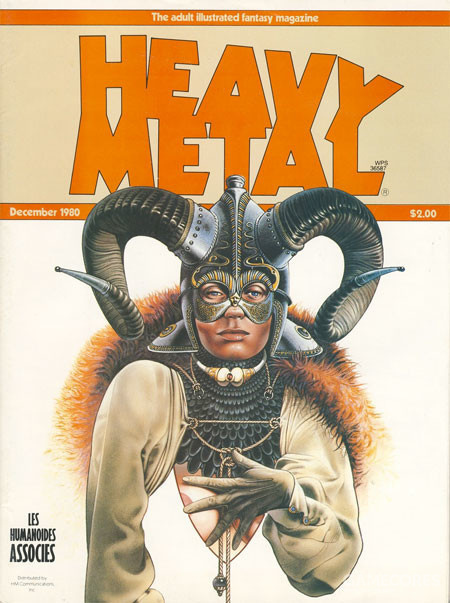 Cover by Christos Achilleos,1980年12月刊,美版