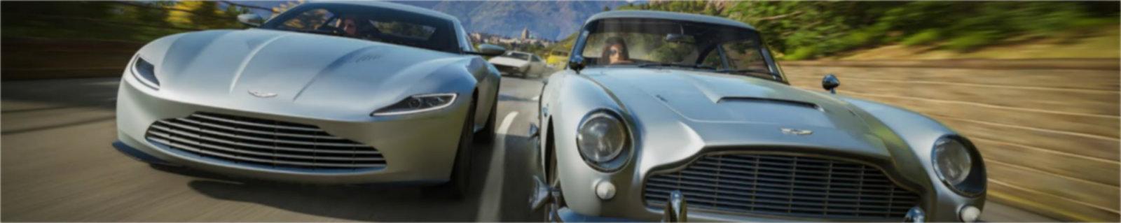 """特工都得有辆车,《极限竞速:地平线4》公布""""007汽车包"""""""