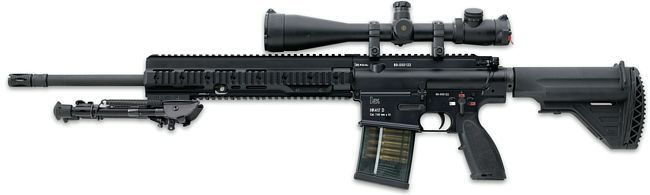 现实中的HK417