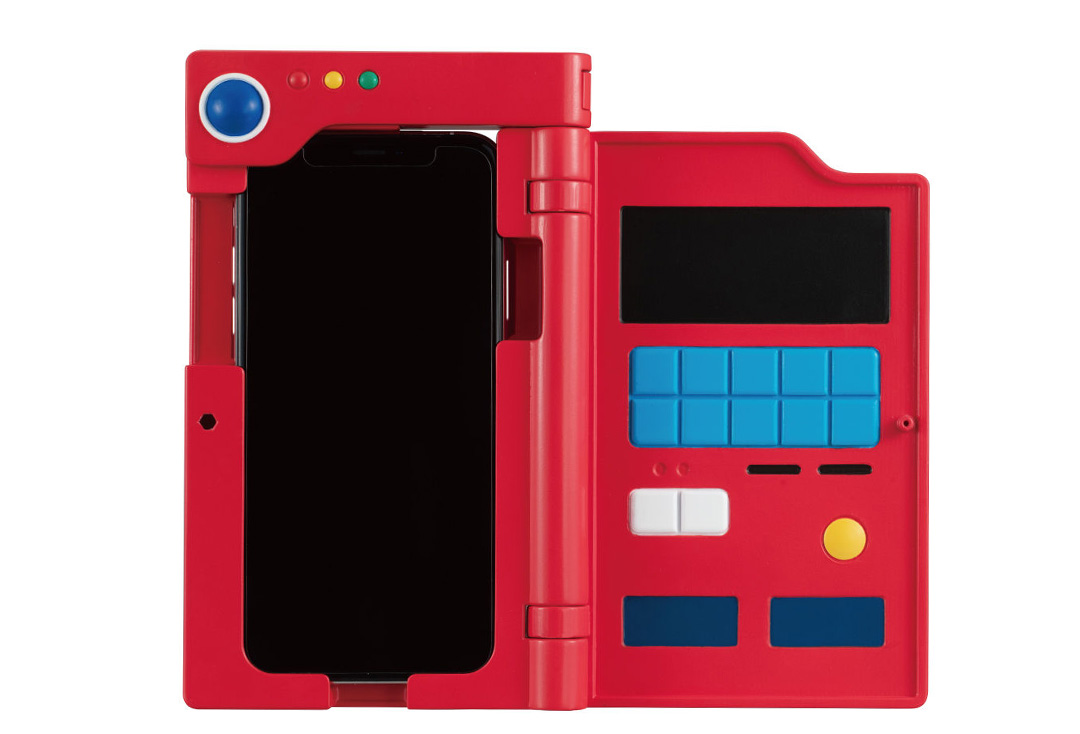 萬代推出寶可夢圖鑑風格手機殼,外表看起來還挺像那麼回事的