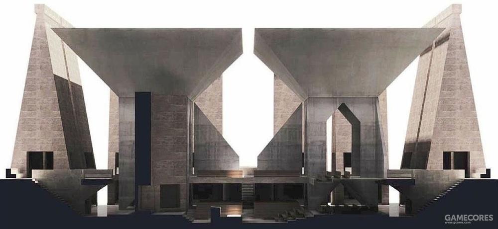 路易斯康-胡瓦犹太教堂