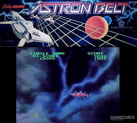 1983年发售的街机CD游戏《天星地带》大量使用了来自《世纪争霸战》的素材