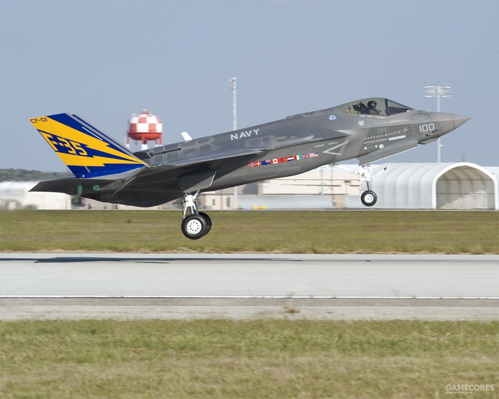 后来该机完整涂装并继续进行试验飞行
