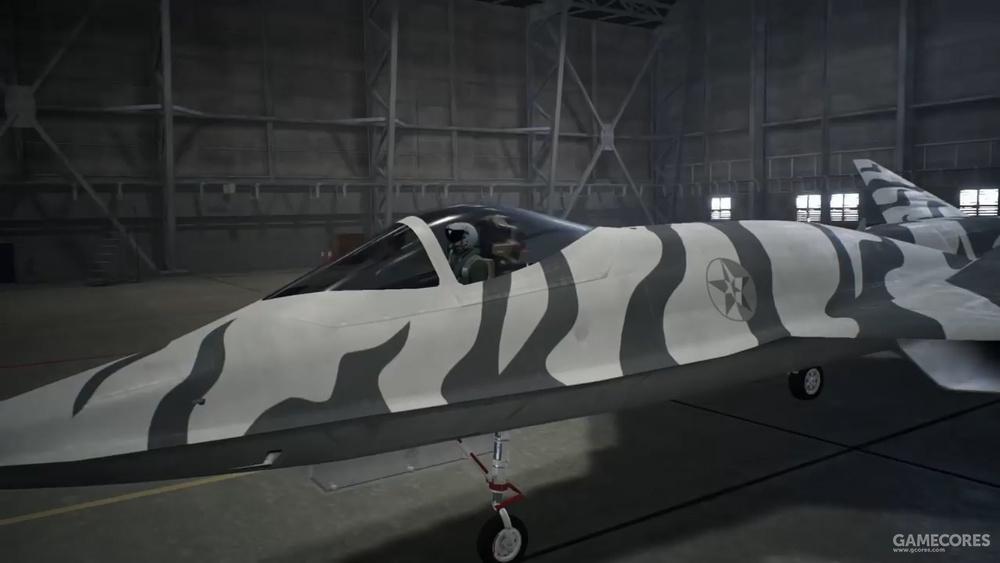 AC7中的虎纹YF-23