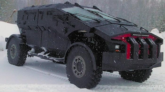"""吉尔""""弯刀"""",看起来更加彪悍了,就像是蝙蝠侠的战车一样"""