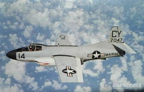 F3D的某些改型持续服役到1969年,例如图中的EF-10B,少量EF-10B参与了越战