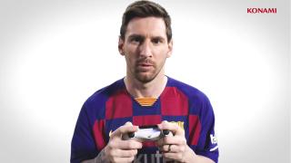 《实况足球2020》发布官方预告片,梅西成为封面代言人