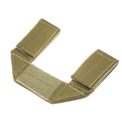 现代战术装备生产商也有类似的产品,图为Original SOE生产的刀鞘下沉挂载带