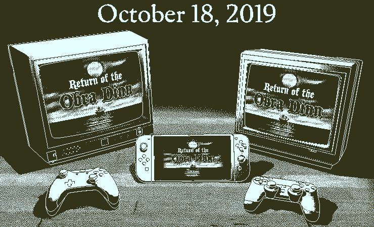 《奥伯拉·丁的回归》将在10月18日登陆PS4、Xbox One以及NS