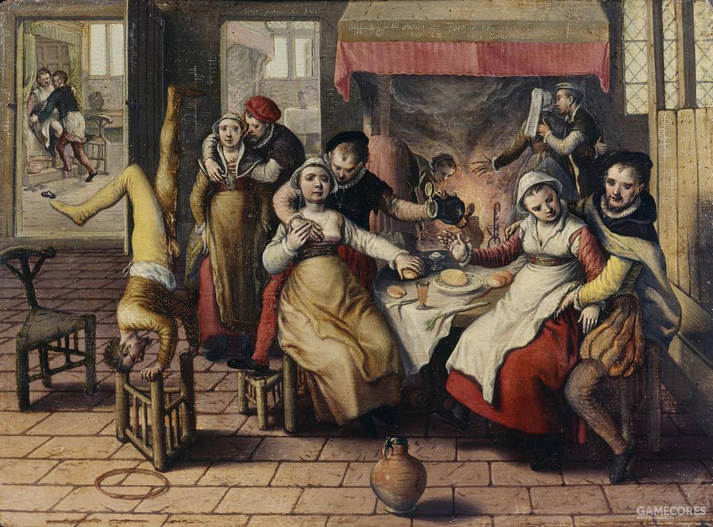 文艺复兴时期的妓院