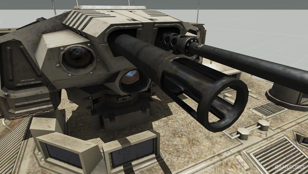 IFV-6的榴弹发射器
