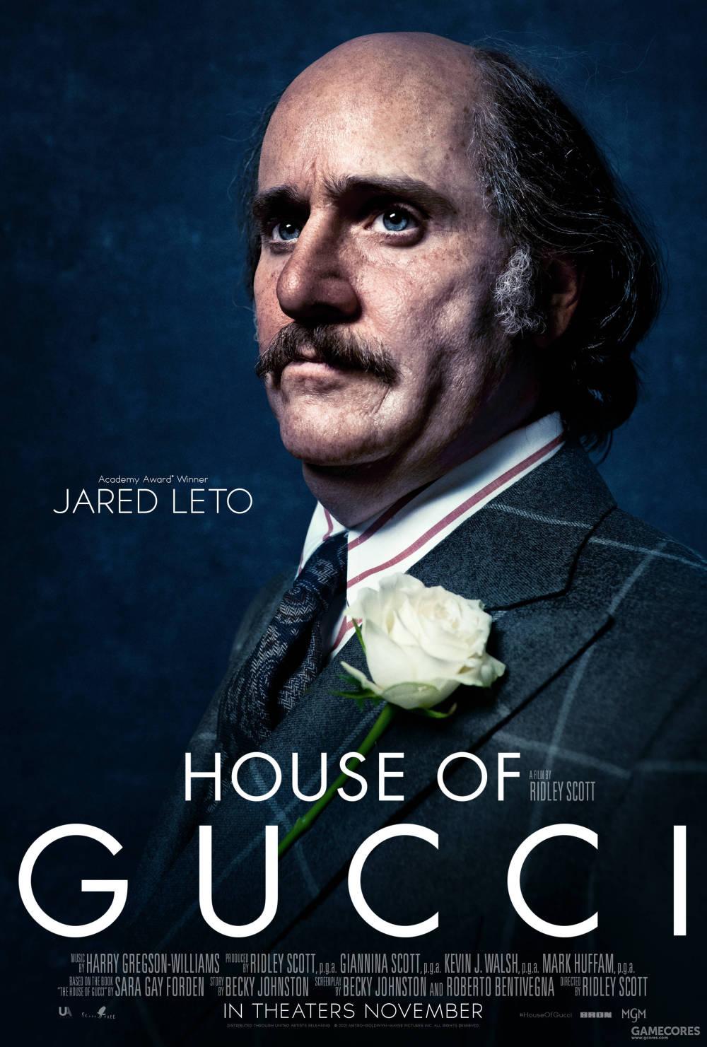 杰瑞德·莱托 饰 Paolo Gucci