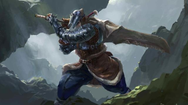 """画中""""世界"""":用绘画记录我在《怪物猎人世界》里的狩猎生涯"""