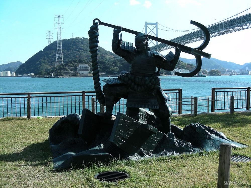 平知盛雕塑
