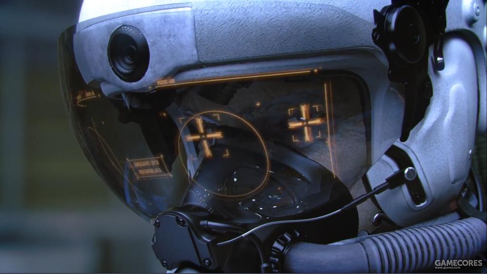 高科技HUD特写,值得一提的是本作支持VR,玩起来会不会就像这样呢(笑