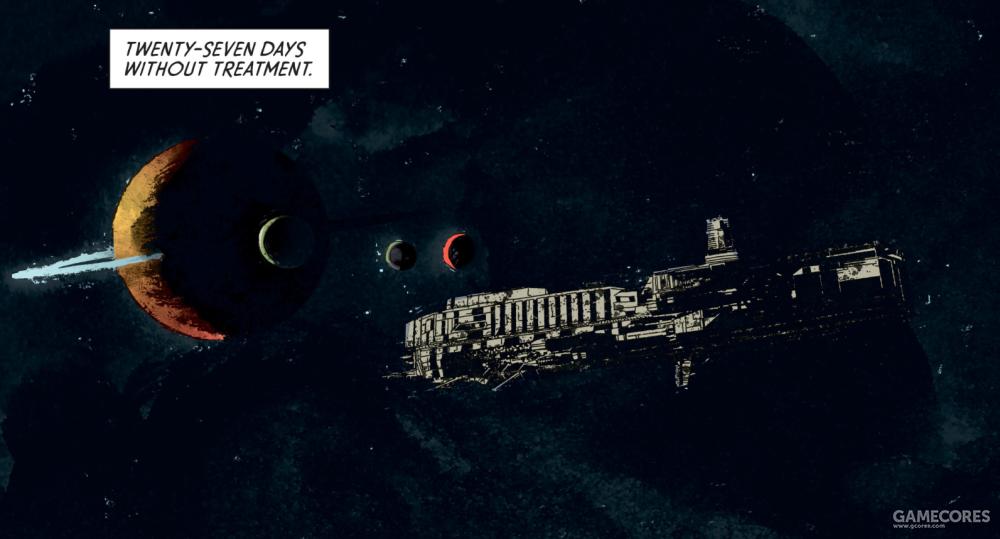 """西格森商业货船""""欧罗巴""""号,外观十分近似""""苏拉科""""号所属的""""康涅斯托加""""级(Conestoga-class)突击战舰"""