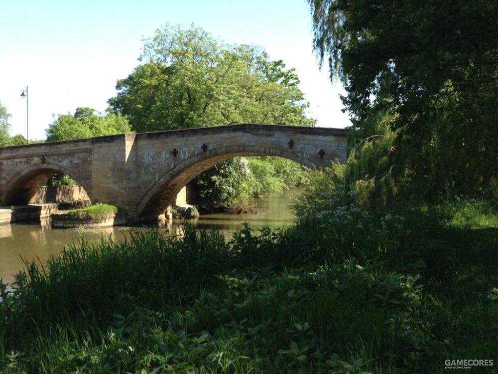 斯坦福桥就位于今天的德文特河上,图中这座是18世纪建成的