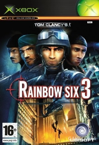 《彩虹六号3》Xbox版封面