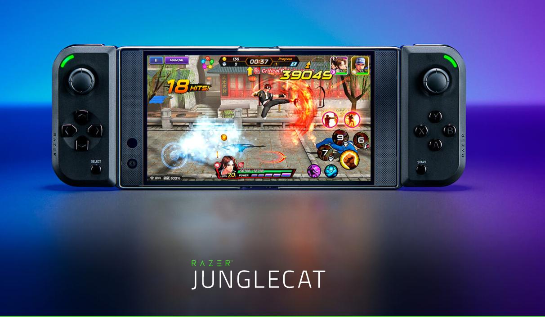 雷蛇推出全新Android游戏手柄Junglecat