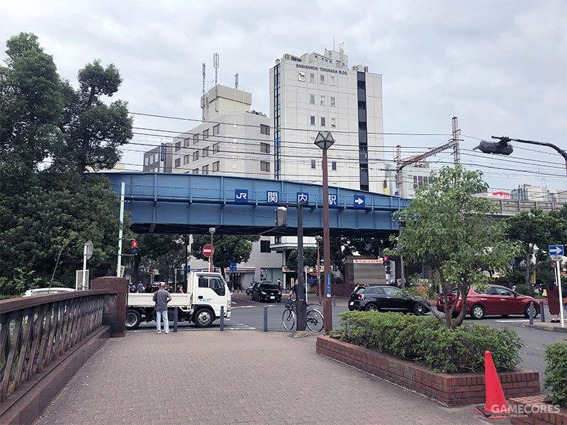 伊势佐木町的对面是JR关内站,不知道在游戏当中这个角度是不是也是这样
