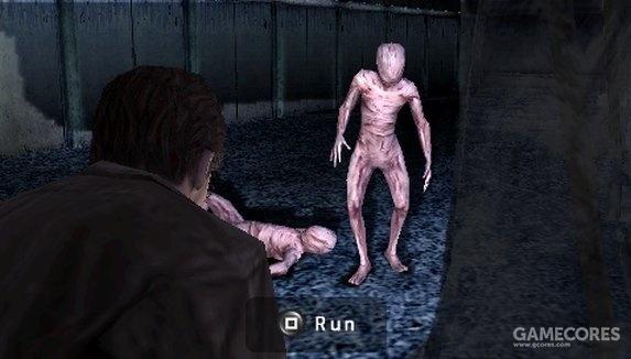 主角只能跑跑跑。