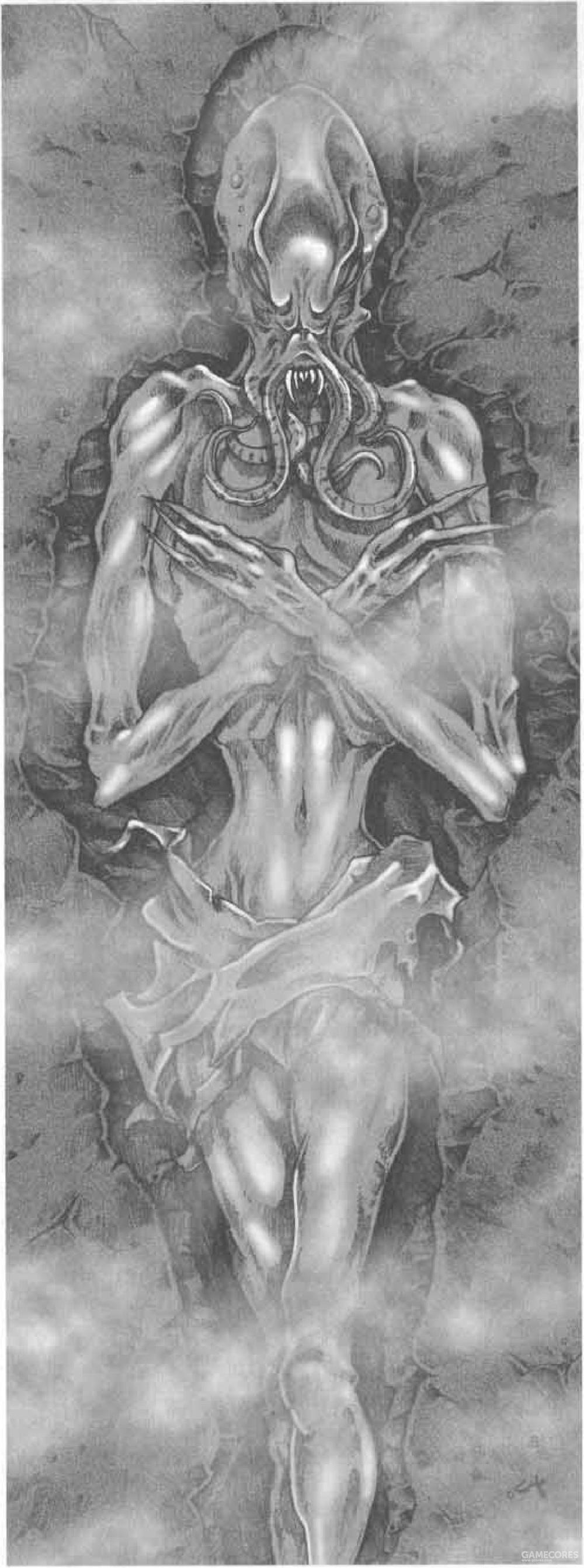 还处在干尸状态的吸血鬼夺心魔