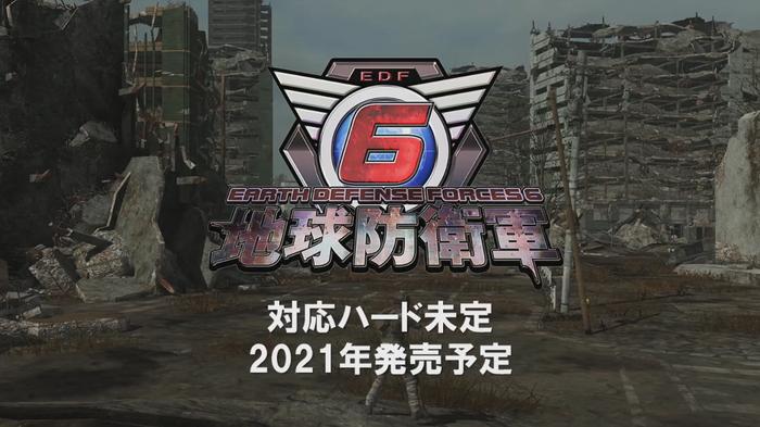 《地球防卫军6》公开实机演示视频,2021年后半年发售