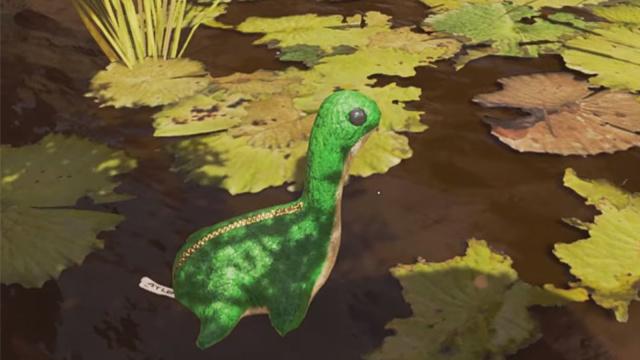 泰坦天降世界观下的《Apex 英雄》依旧有湖怪彩蛋,而且这次可以一睹真容