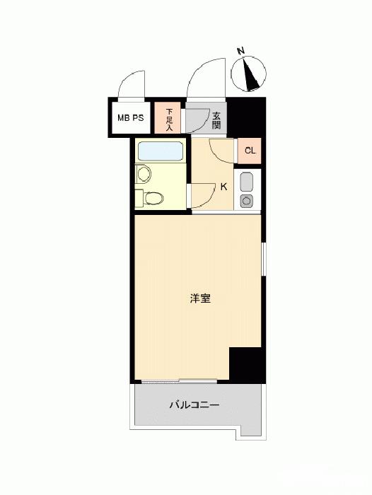 日本年轻人最为普遍的单身公寓布局