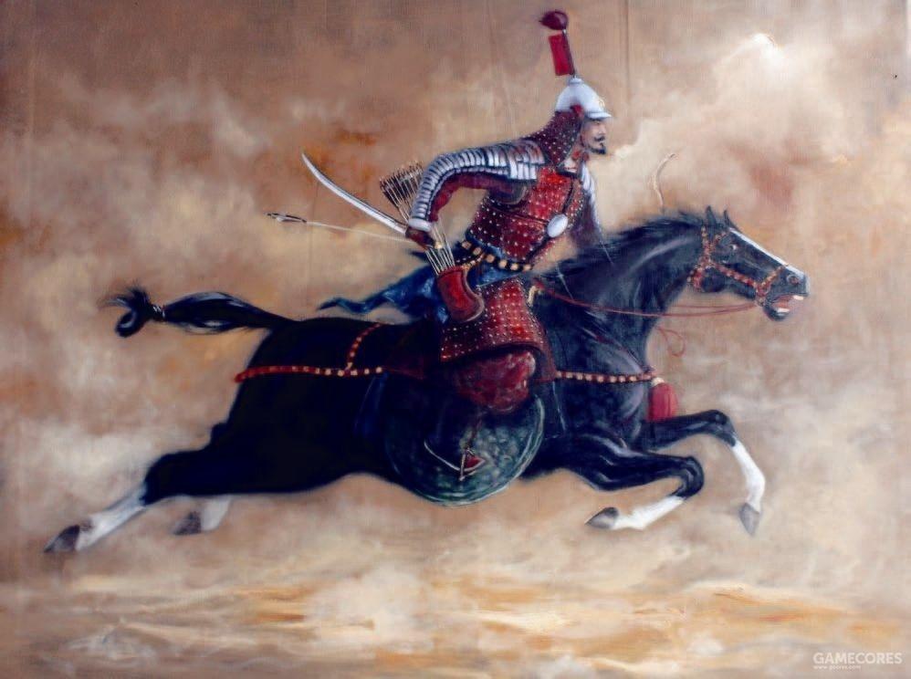 明朝后期的骑兵,马甲已经几乎不再使用,身甲的防御也有所下降