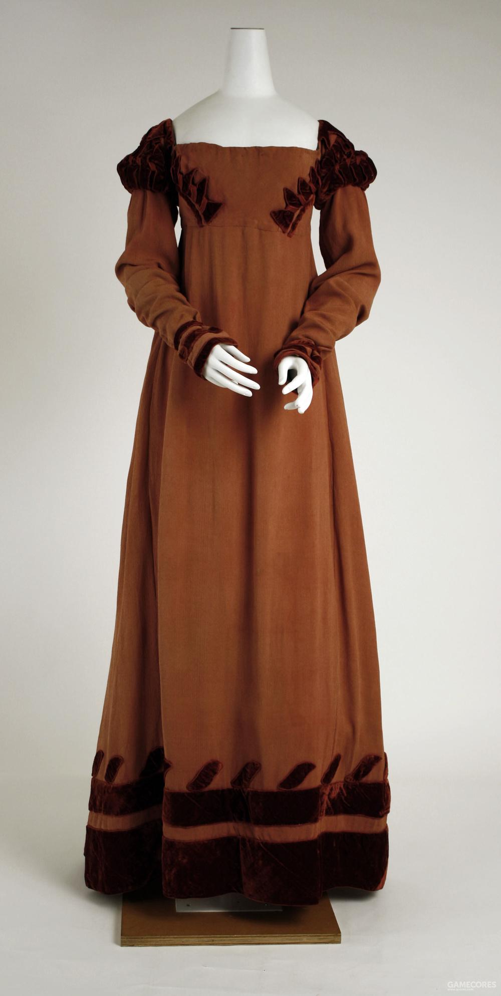 Dress, 1818 (MET)