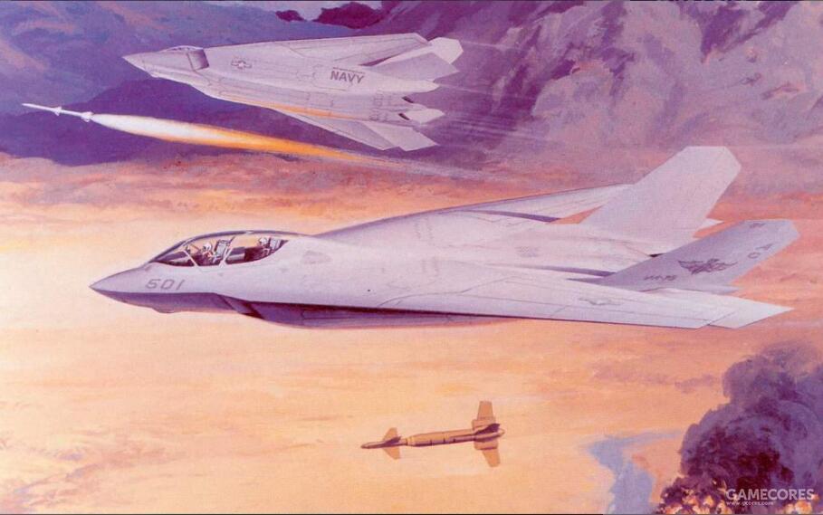 """该项目是AFX项目的竞标方案之一。和NATF项目乃至经常错用的所谓""""隐身化F-14""""基本没有关系。"""