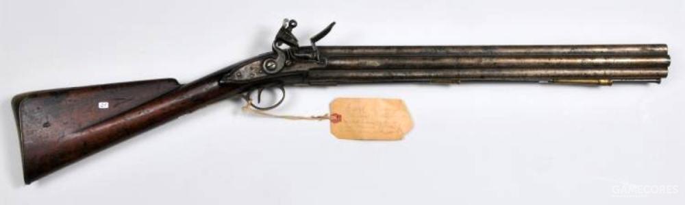 英国亨利·诺克造七管齐射燧发枪