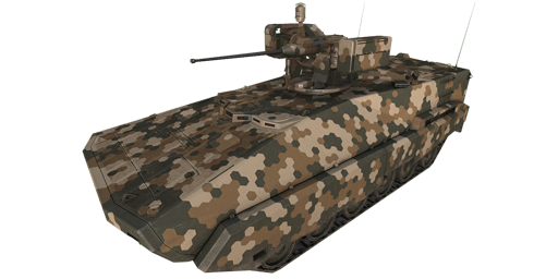 BTR-K,六角迷彩