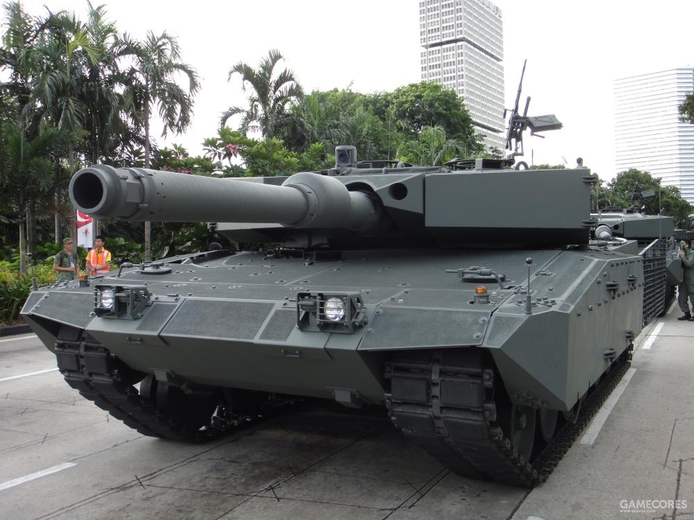 新加坡的豹2SG