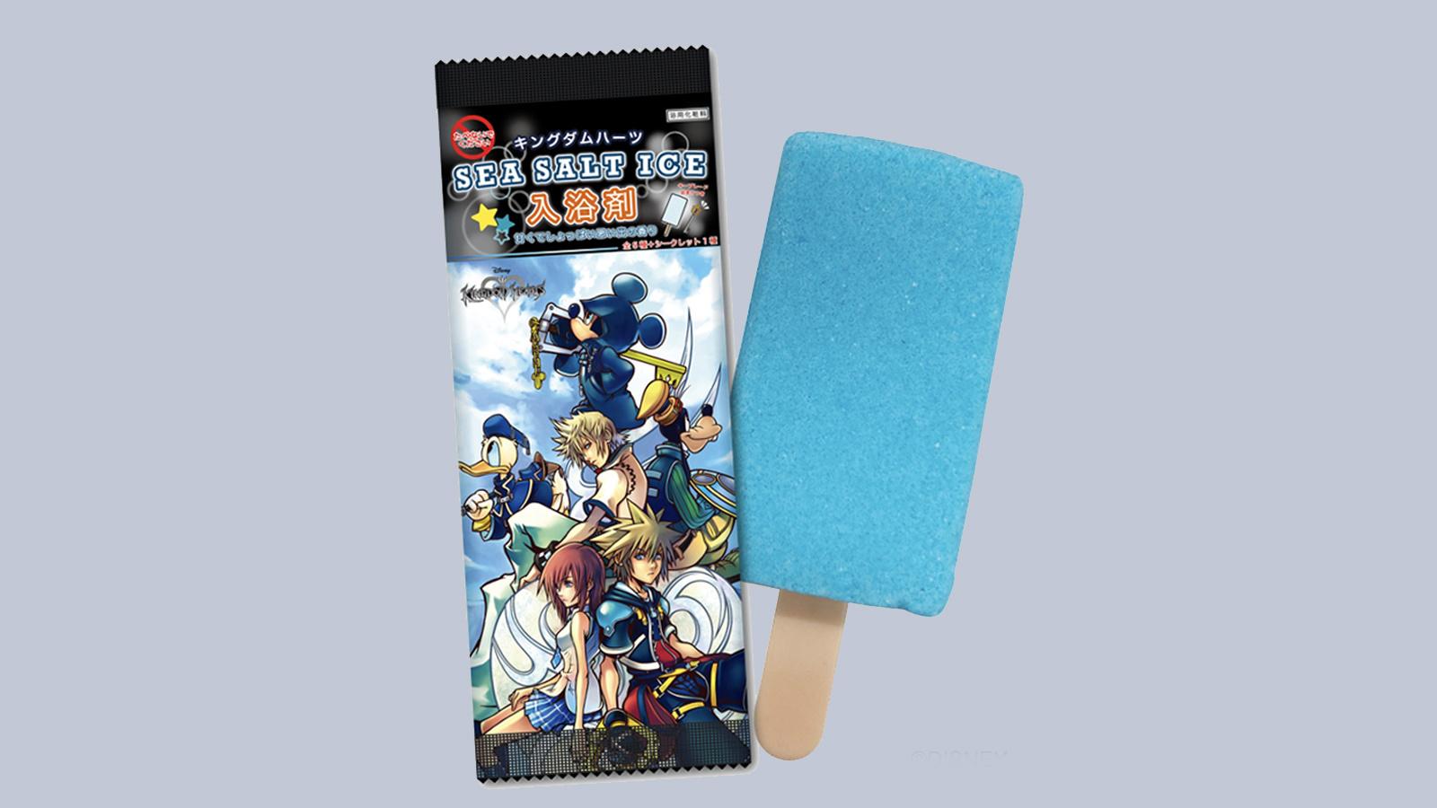 不可食用!500日元的《王國之心》冰棍形狀入浴劑