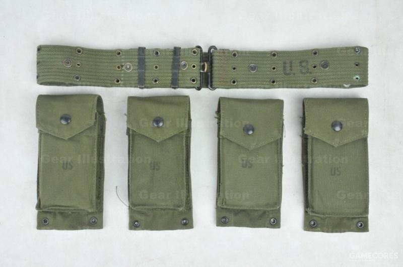 M-1961装具全部组件