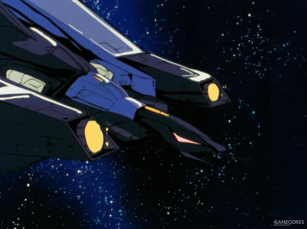 MA形态下最主要的武器就是肩部推进器组前端的两门MEGA粒子炮。其由核融合炉直接进行供能,拥有11.3MW级的输出功率。具备单发摧毁战舰级目标的威力。同时,两侧肩部的9联装导弹发射器在MA形态下也能发射使用。