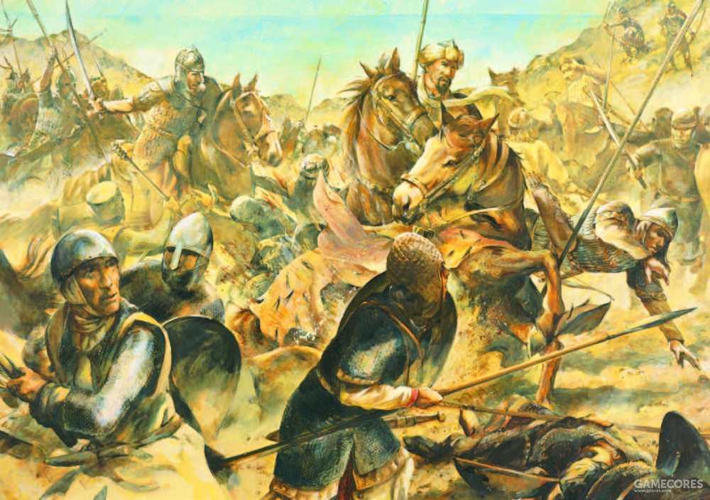 即使遭到突厥人的袭击,为了保持秩序理查依然不下令贸然冲锋